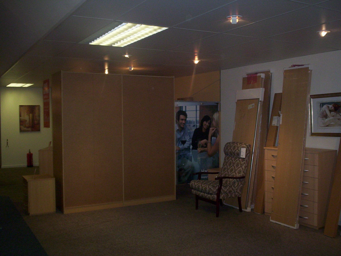The wardrobe pre construction!!